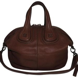 Givenchy Nightingale Small Brown Goat Leather Tote